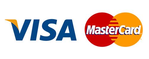 Kreditkarten: VISA & Mastercard